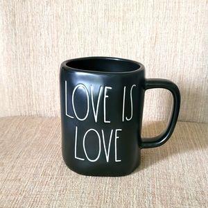Rae Dunn Mug LOVE IS LOVE ❤💜💙🧡